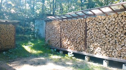 Storage and drying of firewood2