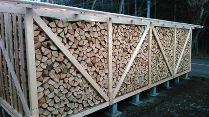 Storage and drying of firewood1